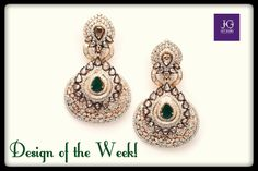 These Beautiful Danglers Are Our Design Of The Week Add Oomph To Your Wardrobe With