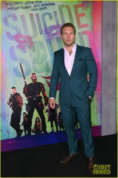 Jai Courtney Suicide Squad New York Premiere