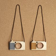 Wood Toy Cameras by Fanny & Alexander