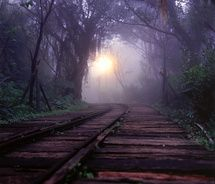 awesome railroad path
