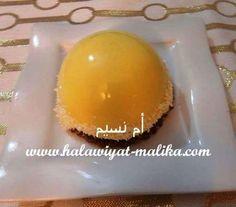 DÔMES DE CITRON قباب بموس الليمون للأخت أم نسيم الطريقة بالصور في الرابط: http://www.halawiyat-malika.com/2015/11/domes-de-citron.html
