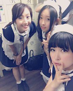 Yuna and Hiroko  Love you   #angelcafetoronto