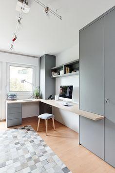 Kitchen Room Design, Home Room Design, Home Office Design, House Design, Small Home Offices, Home Office Space, Small Office, Office Desk, Study Room Decor