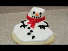 Melting Snowman Cookies Are Super Cute | The WHOot
