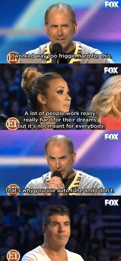 When this happened on X Factor : | 23 Epic Burns That Will Put You In The Burn Unit