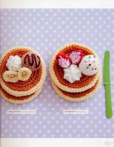Amigurumi Sweets 2 Japanese eBook Pattern AMI07 by Bielleni, €2.00