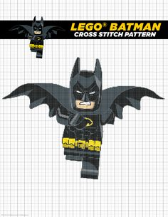 For the people who love to cross stitch in your life. Is that like knitting? It's different, right? Click here to print your pattern! http://pdl.warnerbros.com/wbol/ww/movies/legobatman/pinterest/LEGB_DiyBoard_CrossStitch_v2.pdf | The LEGO® Batman Movie | In theaters now