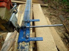 Panther Cub Chainsaw mill portable saw mill Lumber Mill, Wood Mill, Chainsaw Mill Plans, Portable Saw Mill, Firewood Logs, Tools And Toys, Got Wood, Shed Homes, Reclaimed Timber
