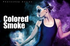 Colored Smoked by Invents on @creativemarket