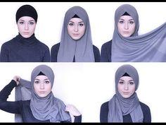 Hijab Tutorial | 4 Styles with Loop Scarf - YouTube