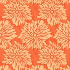 Dahlia in Orange in Impressions 2011 by Ty Pennington for Westminster