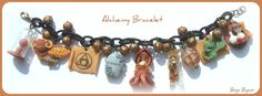 Kawaii Alchemy Bracelet by Bojo-Bijoux.deviantart.com on @deviantART