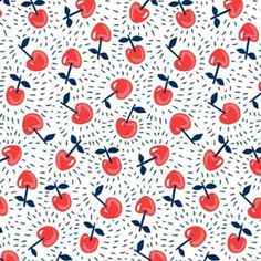 Loving this whirling cherry #print #chintiandparker #chintspiration #feelingdizzy