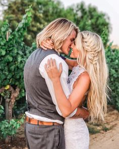 Cole and Savannah wedding and engagement hairstyles 2019 - wedding and engagement 2019 Engagement Photo Hair, Engagement Hairstyles, Engagement Pictures, Wedding Hairstyles, Formal Hairstyles, Savannah Soutas, Cole And Savannah, Prom Pictures, Hair Pictures
