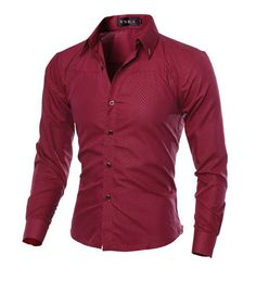 Men Shirt 2016 New Arrival Male Solid Color Mandarin Collar Business Long Sleeve Casual Shirt Cotton Dress Shirts M-5XL