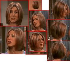 Rachel Friends Season 7 Short Hair