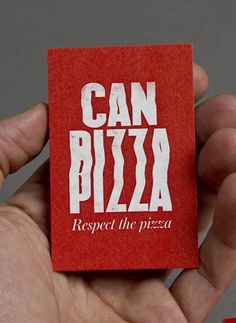CAN PIZZA (Identity, Print) by Lo Siento Studio, Barcelona Pizza Branding, Pizza Logo, Food Branding, Mini Pizzas, Ticket Card, Party Logo, Pizza Party, Business Card Design, Logo
