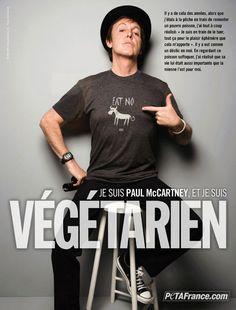 paul mc cartney - végétarien