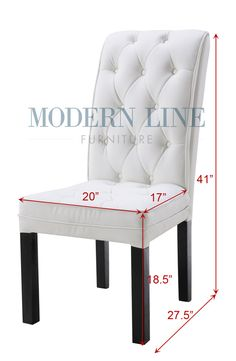 Modern furniture | Contemporary furniture | Nightclub Furniture | Designer Furniture | Commercial Collection | Restaurant Chairs | Dining Chair : Model 115 | Contemporary White Dining Chair