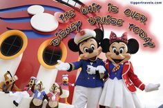 Days till Disney: 0 days! The wait is over! Disney Cruise TODAY! - #TTDAVCDN  Count down to YOUR next Disney vacation at: http://www.tiggertravels.com/  #disneycountdown #vacationcountdown  #Disney #vacation #TiggerTravels #TiggerTravelsSite #TiggerTravelsDotCom  #TiggersTravels