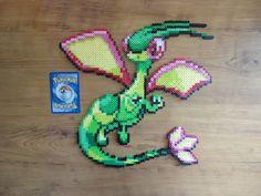 Flygon Pokemon Perler Bead Sprite by PokePerlers on Etsy