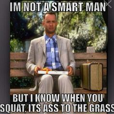 Forrest even knows! #crossfit #squats #a2g