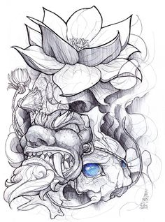 shigeki.zumi: tattoo sketchbook: 013 by fydbac.deviantart.com on @deviantART