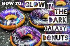 Como hacer que las Doughnuts brillen en la oscuridad?