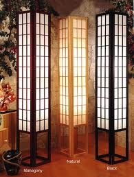 Japanese Floor Lamp For Small, Narrow Spaces. Japanese Living Room ...
