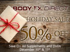 Things that are half off this Tuesday and Wednesday, Dec 10th and 11th?  A. Half Moon Bay B. The opening moments of a Skinny Dip party C. Your Plumbers Pants D. All products at Body Fx Direct online, located in San Diego E. All of the above  ANSWER: EEEEEE Xciting news from bodyfx 50% off SALE. Plumbers, Moons, and Skinny Dippers sold separately.  http://www.loveyourbody.getbodyfx.com/