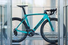 The Oltre XR4 CV will be available in five different colour options, including a couple of celeste/black versions for the traditionalists.  Bianchi will be releasing the bike in eight different builds:  Campagnolo • Super Record EPS • Super Record mechanical • Chorus mechanical  Shimano • Dura-Ace Di2 • Dura-Ace mechanical • Dura-Ace mix • Ultegra Di2  SRAM • Red eTap