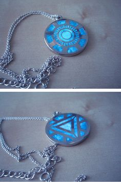 Arc Reactor Necklace