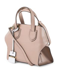 main image of Made In Italy Leather Mini Satchel