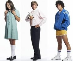 Chris Lilley& Characters on Summer Heights High Clever Halloween Costumes, Halloween Party, Group Halloween, Comedy Tv Shows, Movies And Tv Shows, Summer Heights High, Chris Lilley, Dress Up Costumes, Costume Box