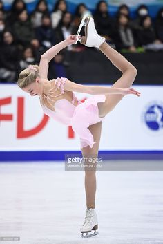 News Photo : Maria Sotskova of Russia competes in the Ladies...