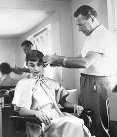 Audrey Hepburn photographed by William Read Woodfield, 1953