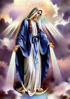 Did you know I am one of the 3 virgin goddesses. Mother Mary Images, Images Of Mary, The Good Catholic, Catholic Mass, Roman Catholic, Blessed Mother Mary, Blessed Virgin Mary, Mother Mary Tattoos, Virgin Mary Art