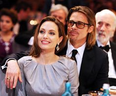 Brad Pitt and Angelina Jolie's Cutest Couple Moments - In Berlin, 2012 from InStyle.com
