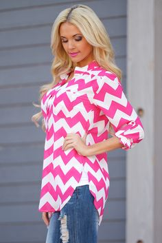 High Expectations Top - Fuchsia from Closet Candy Boutique