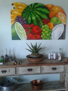 Frutas, área gourmet, Búzios, RJ