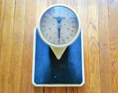 Vintage Salter Bathroom Scales 1950s, Medical Scales, Cast Iron Weighing Scales…