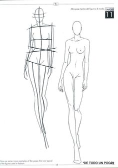 Fashion Sketch Body To great fashion designer