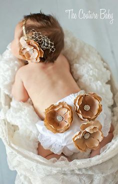 Bloomer & Headband Set Couture Your Way - Check this out.  This item comes in many different colors
