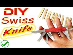 Popsicle Swiss Knife DIY Tutorial - YouTube