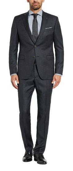 3ad2e47f8dfc Digel dress dark grey Micro fantasia wool Reda Super 110   s drop six  Modern fit