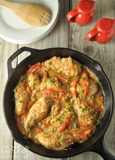 Peanut Chicken Skillet - Low Carb and Gluten Free | Peace Love and Low Carb