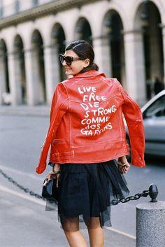 Vanessa Jackman: Paris Fashion Week AW 2015....Giovanna