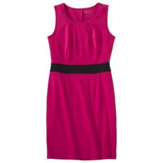 Merona®Women's Sleeveless Colorblock Ponte Dress - Assorted Colors  Rating: 4out of 5 stars: 2 reviews    $21.00