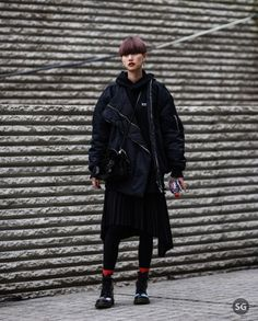 New Trending Street Style: Outside @undercover_lab   Picture by #strassengerecht.  Outside @undercover_lab  Picture by #strassengerecht