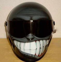 Custom Motorcycle Helmets | ... Boyz: Part 206 - Weird And Wonderful Custom Motorcycle Helmets